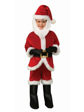 Baby Toddler Santa Costume