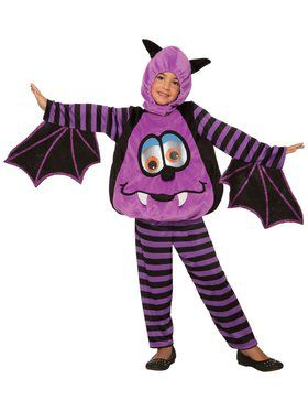 Wiggle Eyes Costume For Toddlers - Bat
