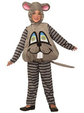 Wiggle Eyes Costume for Toddlers - Mouse