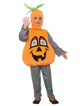 Wiggle Eyes Costume for Toddlers - Pumpkin
