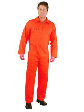Plus Men's Department of Corrections Costume