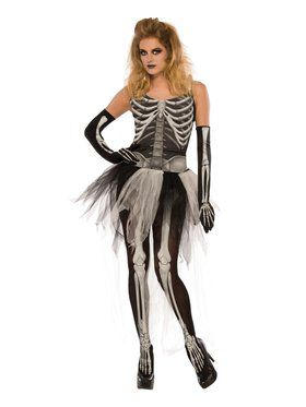Bad to the Bone Women's Costume