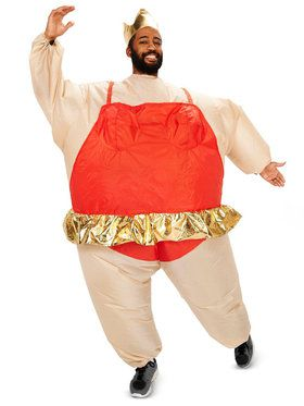 Ballerina Inflatable Costume For Adults  sc 1 st  Wholesale Halloween Costumes & Adult Muscle Man Inflatable Costume For Adults - Mens Costumes for ...