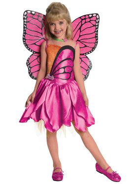 Barbie-Deluxe Mariposa Costume For Toddlers