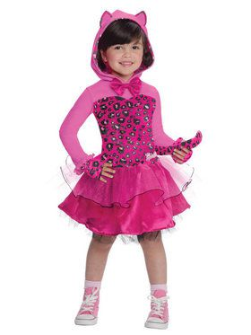 Barbie Kitty Toddlers Costume