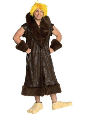 Flintstones Barney Rubble Teen Costume