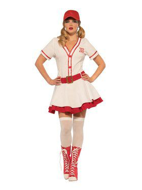 Baseball Sweetie Women's Costume