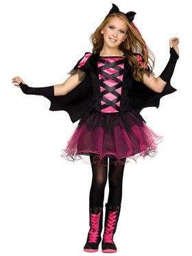 Bat Queen Girl's Costume