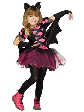Toddler Bat Queen Costume