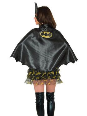 Batgirl Cape Accessory for Adults