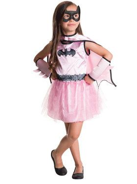 Batgirl Dress and Cape Set for Halloween