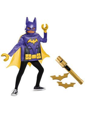 Batgirl Lego Movie Classic Costume Kit For Children