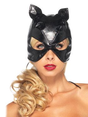 Batgirl Mask with Lace up Back Corset