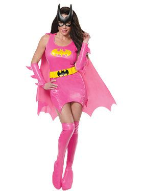 Pink Batgirl Costume for Women