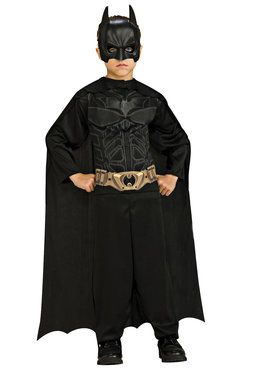 Batman Action Suit Set Boy's Costume