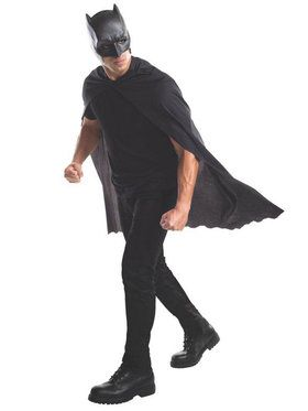 Batman Cape and Mask for Adults