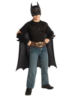 Childrens Batman Costume Kit