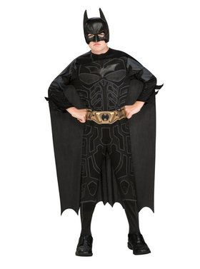 Childrens Action Batman Costume Box Set