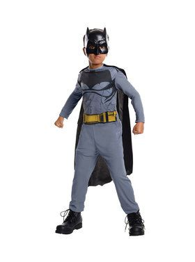 Childrens Action Batman Costume Set