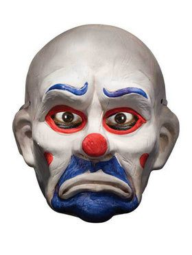 Batman Dark Knight - Joker Deluxe Clown Mask