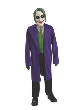 Batman Dark Knight - Tween The Joker Costume