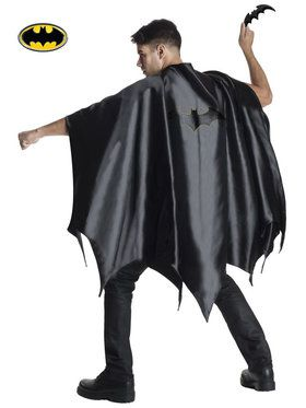 Batman Deluxe Cape Mens Costume