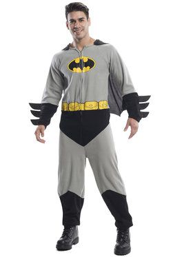 Batman Onesie Men's Costume