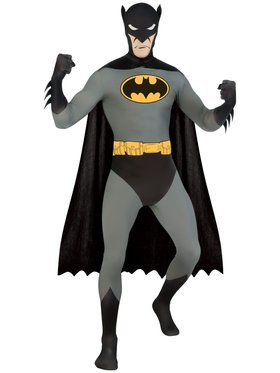 Batman Skin Suit Men's Costume