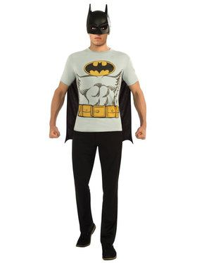 9ce4a3122ec Batman T-Shirt Costume Kit For Adults