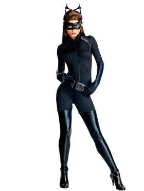 Batman The Dark Knight Rises Catwoman Sexy Adult Costume