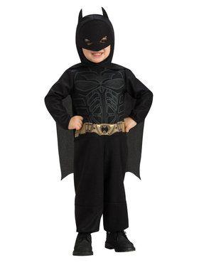 Toddler Dark Knight Batman Costume