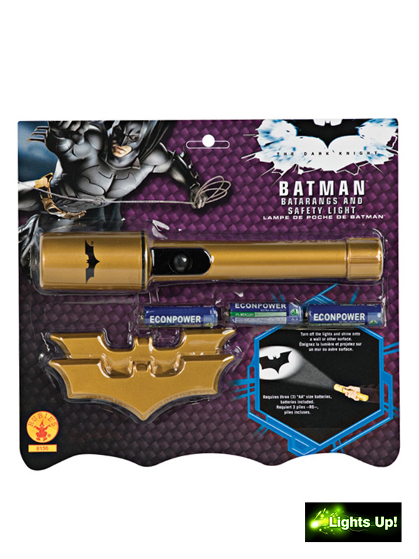 Rubie's Batman Batarangs & Safety Light