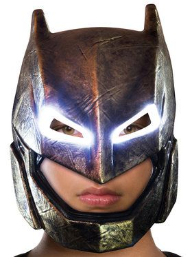 Batman V Superman: Dawn Of Justice Armored Batman Light Up Mask for Children