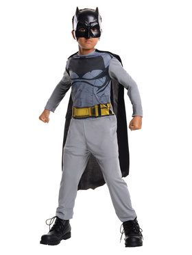 Batman V Superman: Dawn of Justice Batman Action Suit Boy's Costume