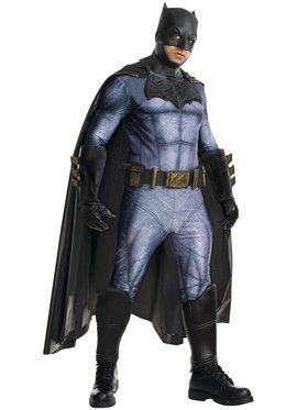 Batman V Superman: Dawn of Justice - Batman Grand Heritage Mens Costume