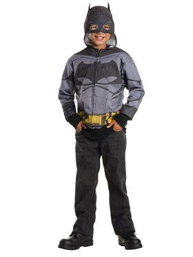 Batman V Superman: Dawn Of Justice - Batman Hoodie Kids Costume
