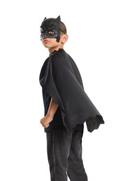 Batman V Superman: Dawn Of Justice Boys Batman Cape And Mask Set