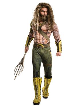 Batman V Superman: Dawn of Justice - Deluxe Aquaman Men's Costume