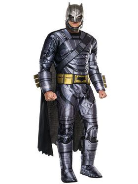 Batman V Superman: Dawn of Justice - Deluxe Batman Armored Mens Costume