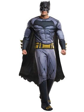 Batman V Superman: Dawn of Justice - Deluxe Batman Men's Costume