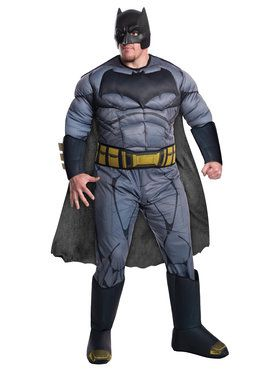 Batman V Superman: Dawn of Justice - Deluxe Batman Mens Plus Size Costume