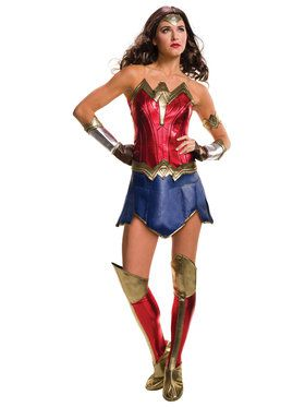 Batman V Superman: Dawn of Justice - Deluxe Wonder Woman Womens Costume