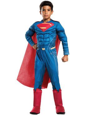 Batman v Superman: Dawn of Justice - Deluxe Superman Costume For Children