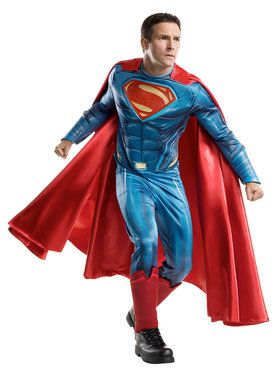 Batman V Superman: Dawn of Justice - Superman Grand Heritage Mens Costume