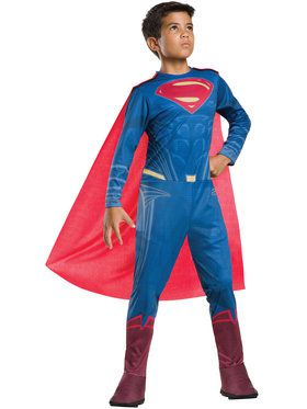 Batman V Superman: Dawn Of Justice - Tween Superman Kids Costume