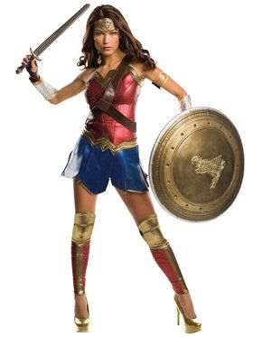 Batman V Superman: Dawn of Justice - Wonder Woman Grand Heritage Women's Costume