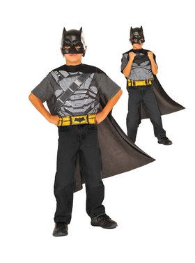 Batman Vs Superman Reversible Childrens Cape