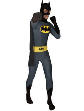 Batman Zentai Bodysuit Adult Costume