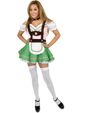 Bavarian Maiden Beer Girl Gretchen Adult Costume