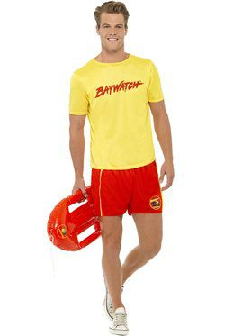 Baywatch Beach Men's Costume
